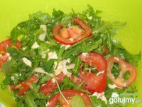 Prosta salatka z rukola