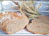 Pszenno - gryczany chleb ze słonecznikiem