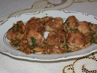 Pulpeciki w sosie grzybowym