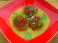 Pulpeciki w sosie limonkowo-kokosowym