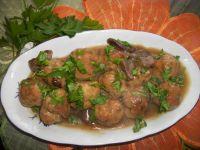 Pulpety wieprzowe w sosie grzybowym