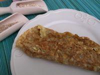Puszysty omlet owsiany