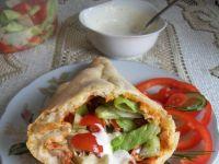 Pyszny domowy kebab
