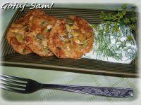 Racuszki serowe z sosem koperkowym