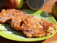 Racuszki z serkiem wiejskim i jabłkami