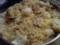 Risotto z kurczakiem i kalafiorem