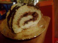 Rolada rumowo-czekoladowa