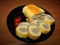 Rolada serowa z mięsem mielonym