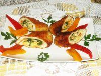 Roladki drobiowe z pietruszką i serem korycińskim