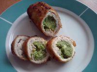 Roladki faszerowane brokułem