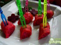 Roladki z różowym kuskusem