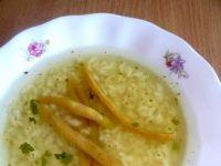 Rosół z królika z ryżem