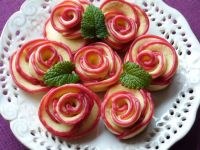 Róże z kruchego ciasta