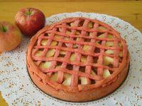 Różowy jabłecznik z kisielem