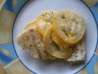 Ryba na parze z cukinią