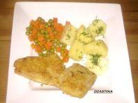 Ryba  w panierce sezamowej