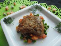 Ryba w panierce z chrupkiego pieczywa