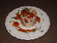 Ryż po wiejsku z pastą curry
