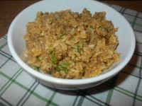 Ryż podsmażany z mięsem mielonym