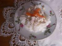 Ryż z kurczakiem w sosie chrzanowym