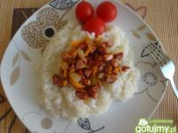 Ryż z mięsno-warzywną zasmażką