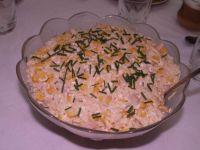 Ryżowa sałatka z selerem konserwowym ala gyros
