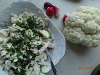 Sałatka cukiniowo-kalafiorowa