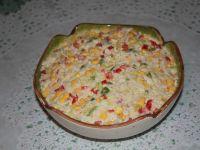 Sałatka kurczakowo-ryżowa