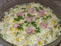 Sałatka makaronowa z warzywami