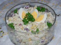 Sałatka makaronowa z ziołami prowansalskimi