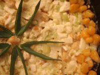 Sałatka porowaz kukurydzą