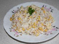 Sałatka ryżowa z majonezem