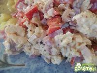 Sałatka z białą rzodkwią