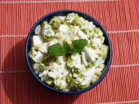 Sałatka z brokuła i kukurydzy