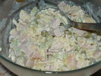 Sałatka z groszkiem białym