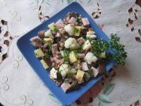 Sałatka z kalafiorem i grzybami mun