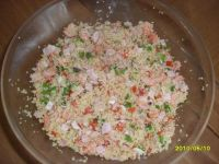 Salatka z kaszy kuskus Tabule