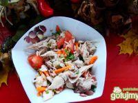 Sałatka z kurczaka i ryżu