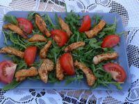 Sałatka z kurczakiem i pomidorkami