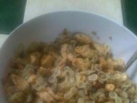 Sałatka z kurczakiem i ze z. słonecznika