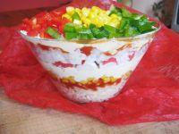Sałatka z makaronem z zupki chińskiej