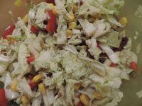 Sałatka z pestkami dyni i słonecznika