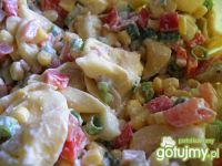 Salatka z ravioli