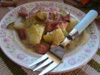 Sałatka z sosem tymiankowym