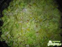 Sałatka z zupek chińskich z szynką