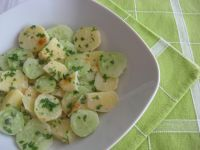 Sałatka ziemniaczano – ogórkowa