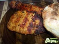 Schab w marynacie curry z grilla