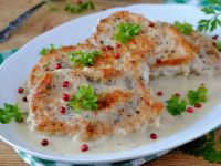 Schabowe z serem pleśniowym