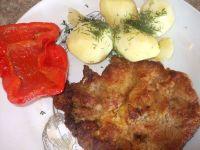 Schabowe z ziemniakami