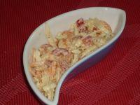 Selerowa surówka z czerwoną papryką